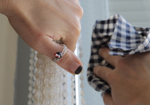 DIY Rings with wire and stones