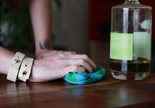 DIY Leathery Bracelet