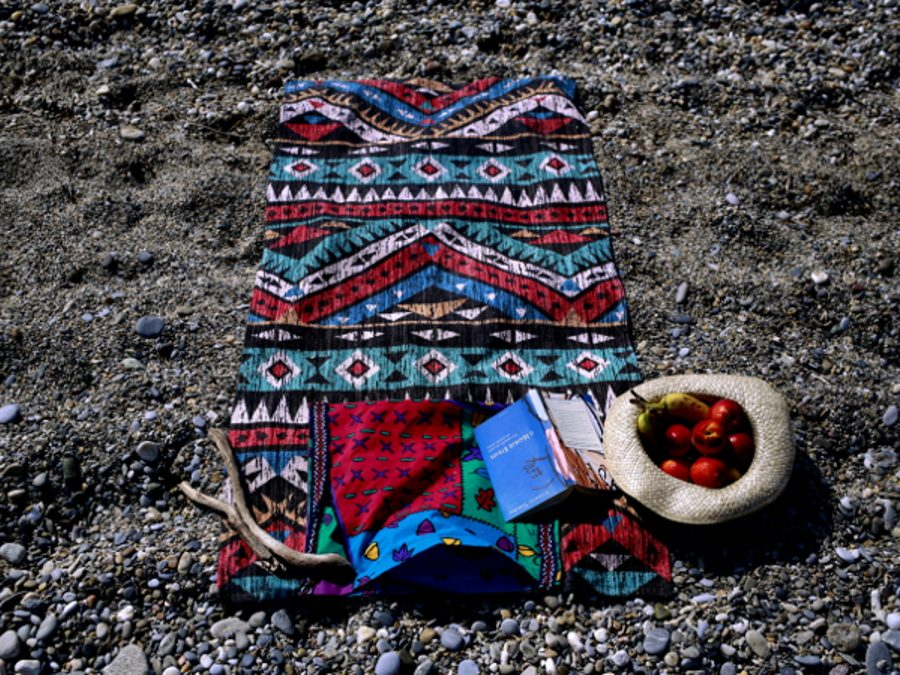 DIY 2 in 1! Your Beach Towel and Bag all in One!